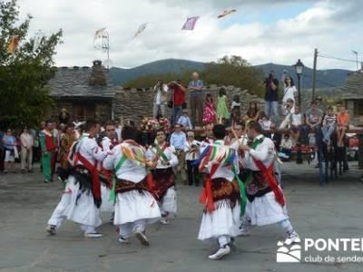 Majaelrayo - Pueblos arquitectura negra - Fiesta de los danzantes, Santo Niño; senderismo interpret
